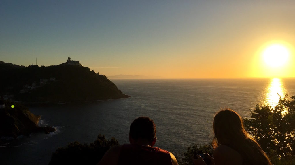 best views in san sebastian