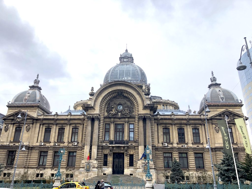 self-guided walking tour of bucharest