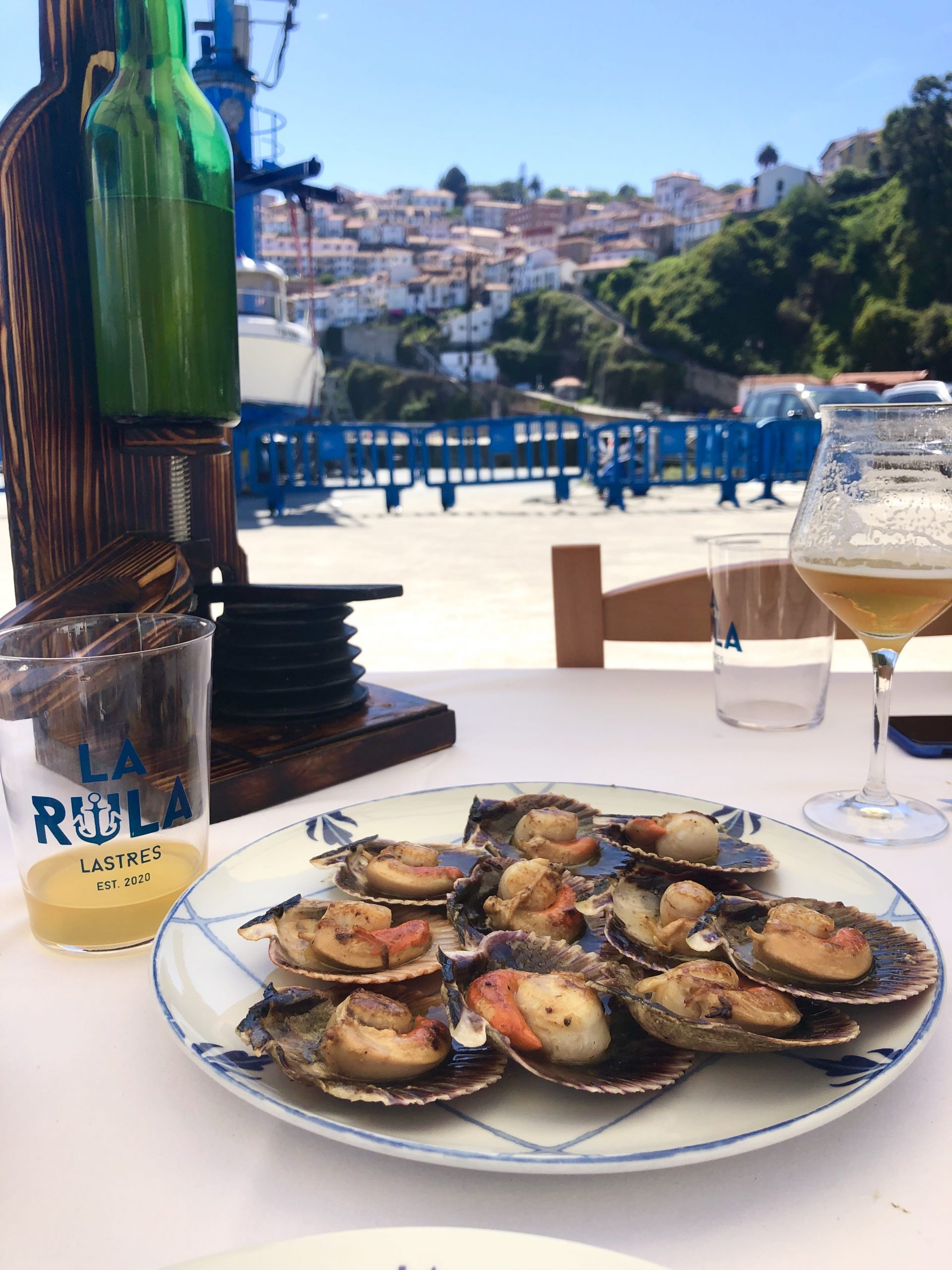 lunch in lastres